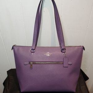 NWT COACH Gallery Tote Dusty Lavender 7968